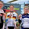 Lisa Fischer (2.), Sarah-Lena Hofamenn (1.), Mieke Kröger (3.)