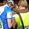 Nach dem Sieg: UCI-Papiere ausfüllen