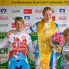 Sieg vor Lisa Küllmer (links) und Ariane Horbach (rechts)