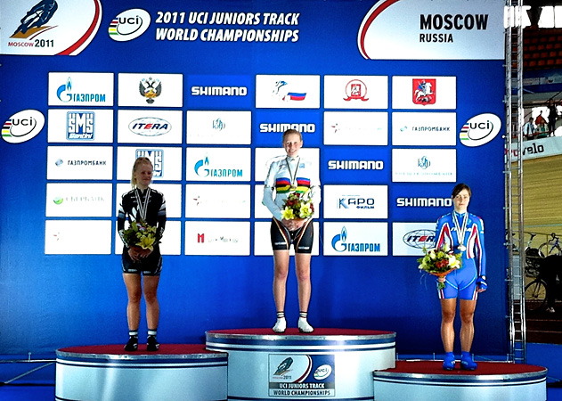 Siegerehrung in Moskau