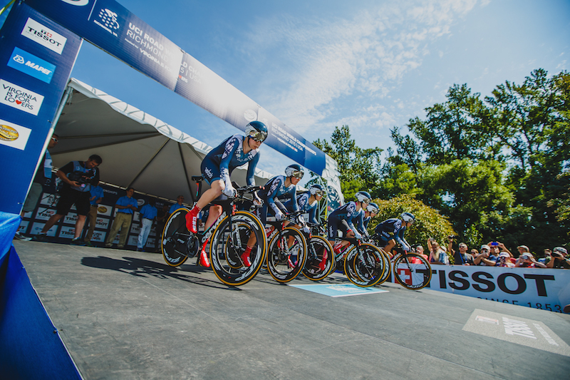 2015 UCI Road Worlds - TTT Elite Women